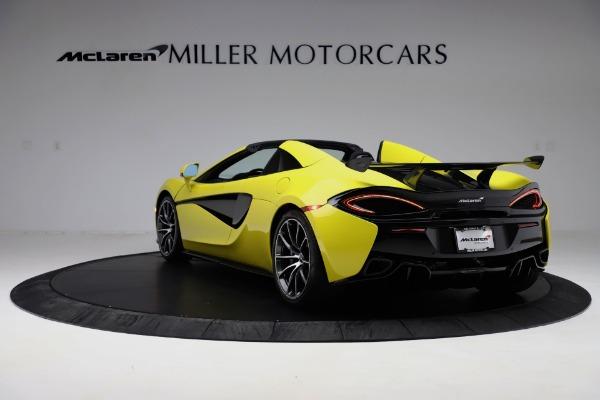 New 2019 McLaren 570S SPIDER Convertible for sale $227,660 at McLaren Greenwich in Greenwich CT 06830 3