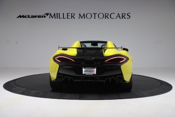 New 2019 McLaren 570S SPIDER Convertible for sale $227,660 at McLaren Greenwich in Greenwich CT 06830 4