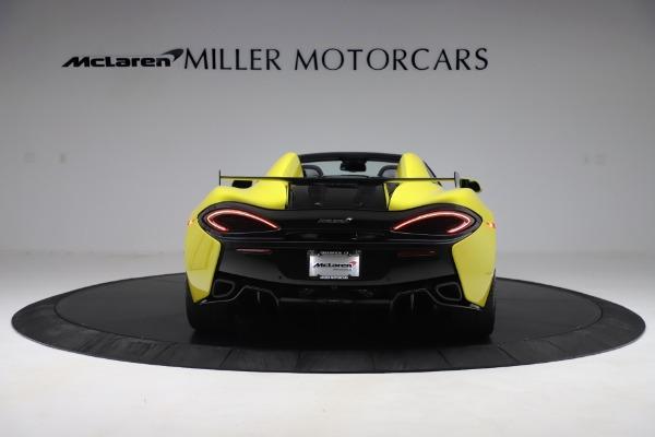 New 2019 McLaren 570S SPIDER Convertible for sale $227,660 at McLaren Greenwich in Greenwich CT 06830 4