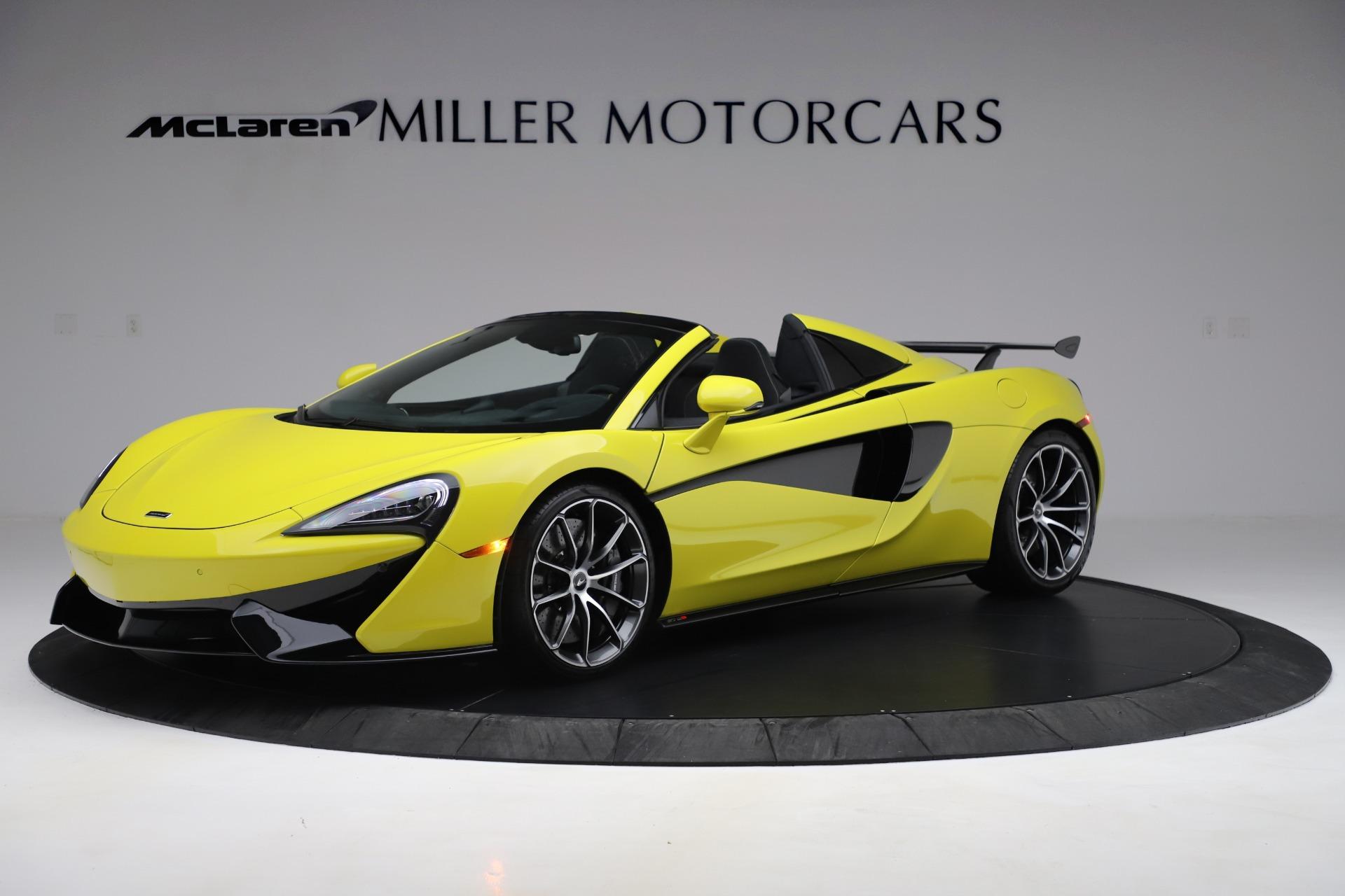 New 2019 McLaren 570S SPIDER Convertible for sale $227,660 at McLaren Greenwich in Greenwich CT 06830 1