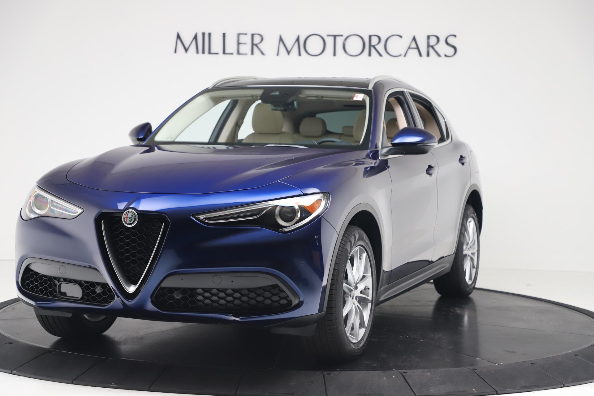 New 2019 Alfa Romeo Stelvio Ti Lusso Q4 for sale Sold at McLaren Greenwich in Greenwich CT 06830 1