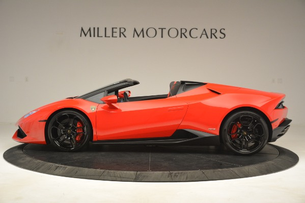 Used 2017 Lamborghini Huracan LP 610-4 Spyder for sale Sold at McLaren Greenwich in Greenwich CT 06830 2