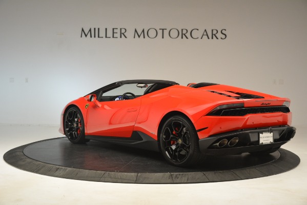 Used 2017 Lamborghini Huracan LP 610-4 Spyder for sale Sold at McLaren Greenwich in Greenwich CT 06830 3