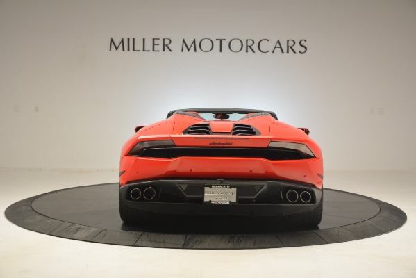 Used 2017 Lamborghini Huracan LP 610-4 Spyder for sale Sold at McLaren Greenwich in Greenwich CT 06830 4