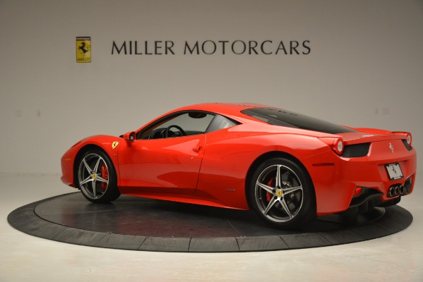 Used 2014 Ferrari 458 Italia for sale Sold at McLaren Greenwich in Greenwich CT 06830 4