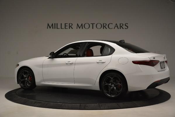 New 2019 Alfa Romeo Giulia Q4 for sale Sold at McLaren Greenwich in Greenwich CT 06830 4