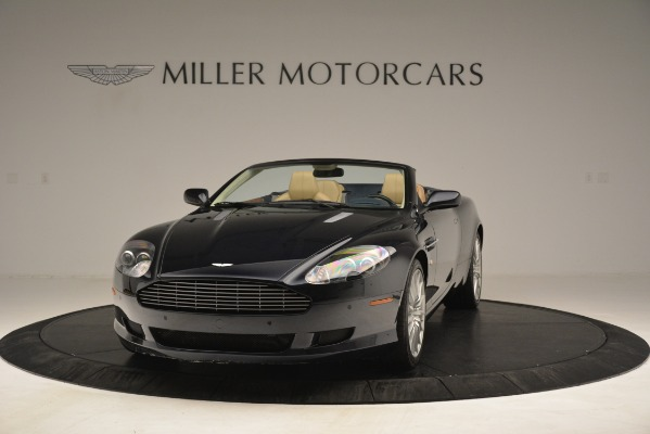 Used 2007 Aston Martin DB9 Convertible for sale Sold at McLaren Greenwich in Greenwich CT 06830 2