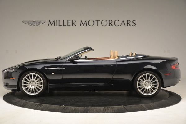 Used 2007 Aston Martin DB9 Convertible for sale Sold at McLaren Greenwich in Greenwich CT 06830 3