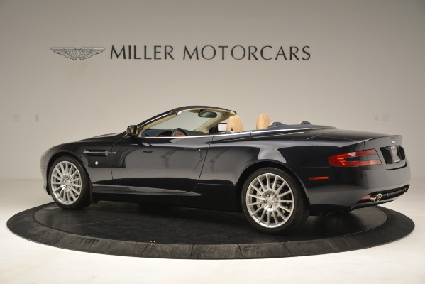 Used 2007 Aston Martin DB9 Convertible for sale Sold at McLaren Greenwich in Greenwich CT 06830 4