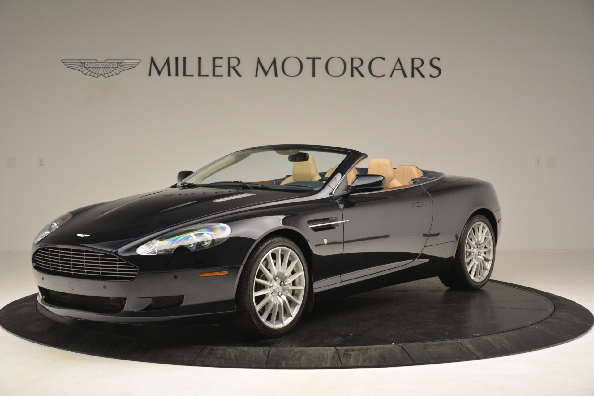 Used 2007 Aston Martin DB9 Convertible for sale Sold at McLaren Greenwich in Greenwich CT 06830 1