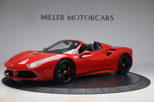 Used 2017 Ferrari 488 Spider for sale $275,900 at McLaren Greenwich in Greenwich CT 06830 2