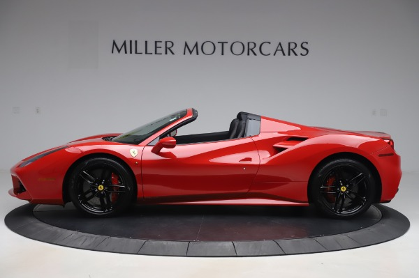 Used 2017 Ferrari 488 Spider for sale $275,900 at McLaren Greenwich in Greenwich CT 06830 3