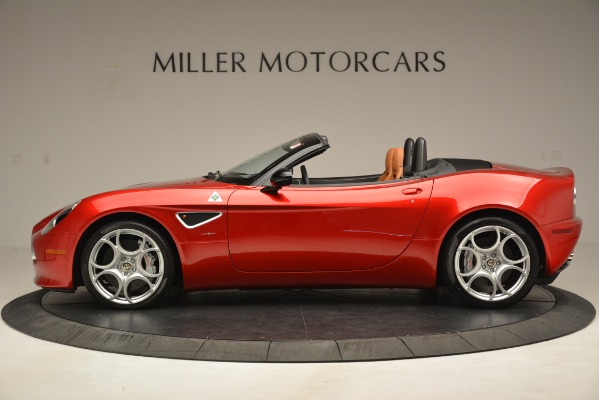 Used 2009 Alfa Romeo 8c Spider for sale Sold at McLaren Greenwich in Greenwich CT 06830 3