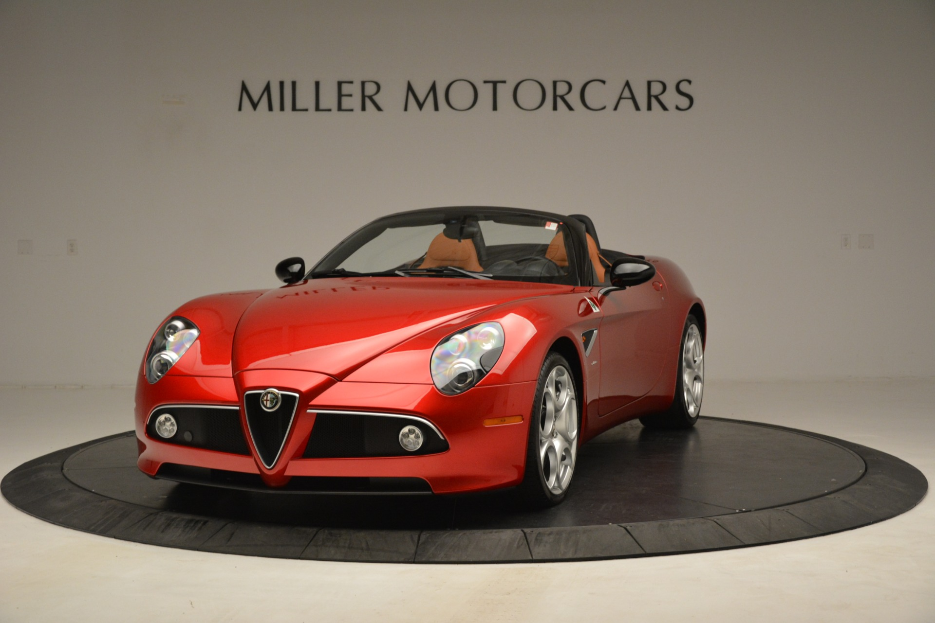 Used 2009 Alfa Romeo 8c Spider for sale Sold at McLaren Greenwich in Greenwich CT 06830 1