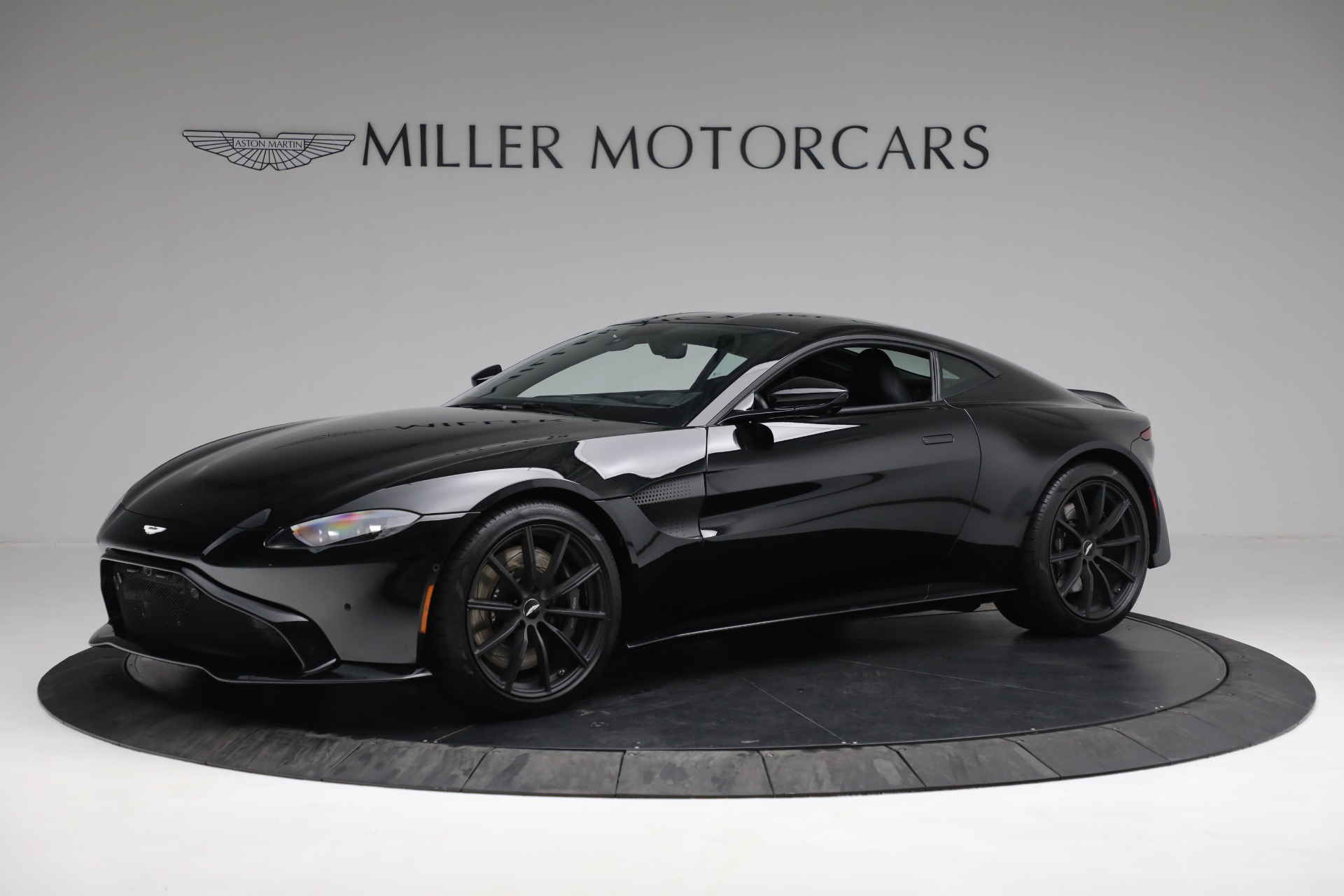 New 2019 Aston Martin Vantage V8 for sale Sold at McLaren Greenwich in Greenwich CT 06830 1
