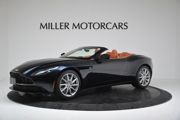 New 2019 Aston Martin DB11 V8 for sale Sold at McLaren Greenwich in Greenwich CT 06830 1