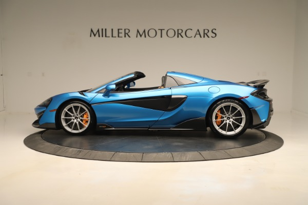 New 2020 McLaren 600LT SPIDER Convertible for sale $303,059 at McLaren Greenwich in Greenwich CT 06830 2