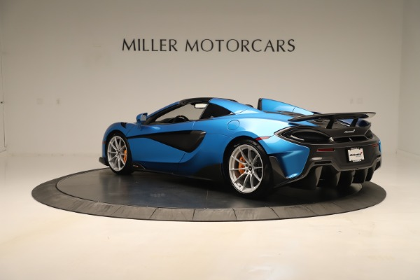 New 2020 McLaren 600LT SPIDER Convertible for sale $303,059 at McLaren Greenwich in Greenwich CT 06830 3
