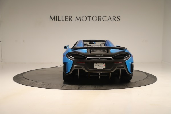 New 2020 McLaren 600LT SPIDER Convertible for sale $303,059 at McLaren Greenwich in Greenwich CT 06830 4