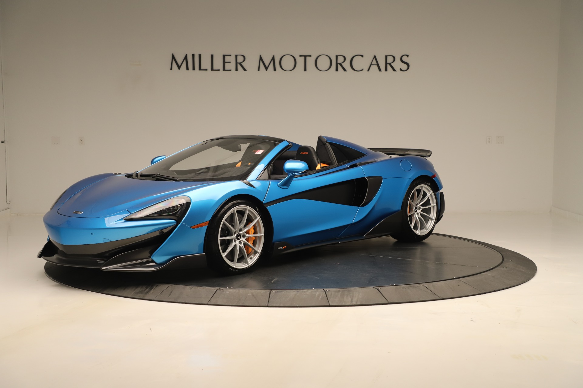 New 2020 McLaren 600LT SPIDER Convertible for sale $303,059 at McLaren Greenwich in Greenwich CT 06830 1