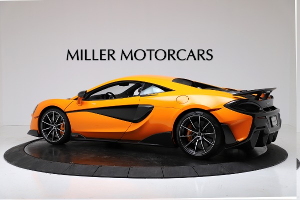 New 2019 McLaren 600LT Coupe for sale $279,310 at McLaren Greenwich in Greenwich CT 06830 4