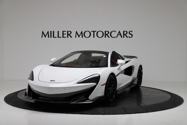 New 2020 McLaren 600LT Convertible for sale Sold at McLaren Greenwich in Greenwich CT 06830 2