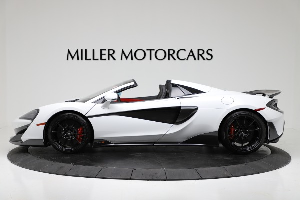 New 2020 McLaren 600LT Convertible for sale Sold at McLaren Greenwich in Greenwich CT 06830 3