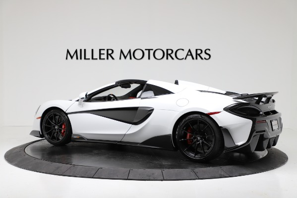 New 2020 McLaren 600LT Convertible for sale Sold at McLaren Greenwich in Greenwich CT 06830 4