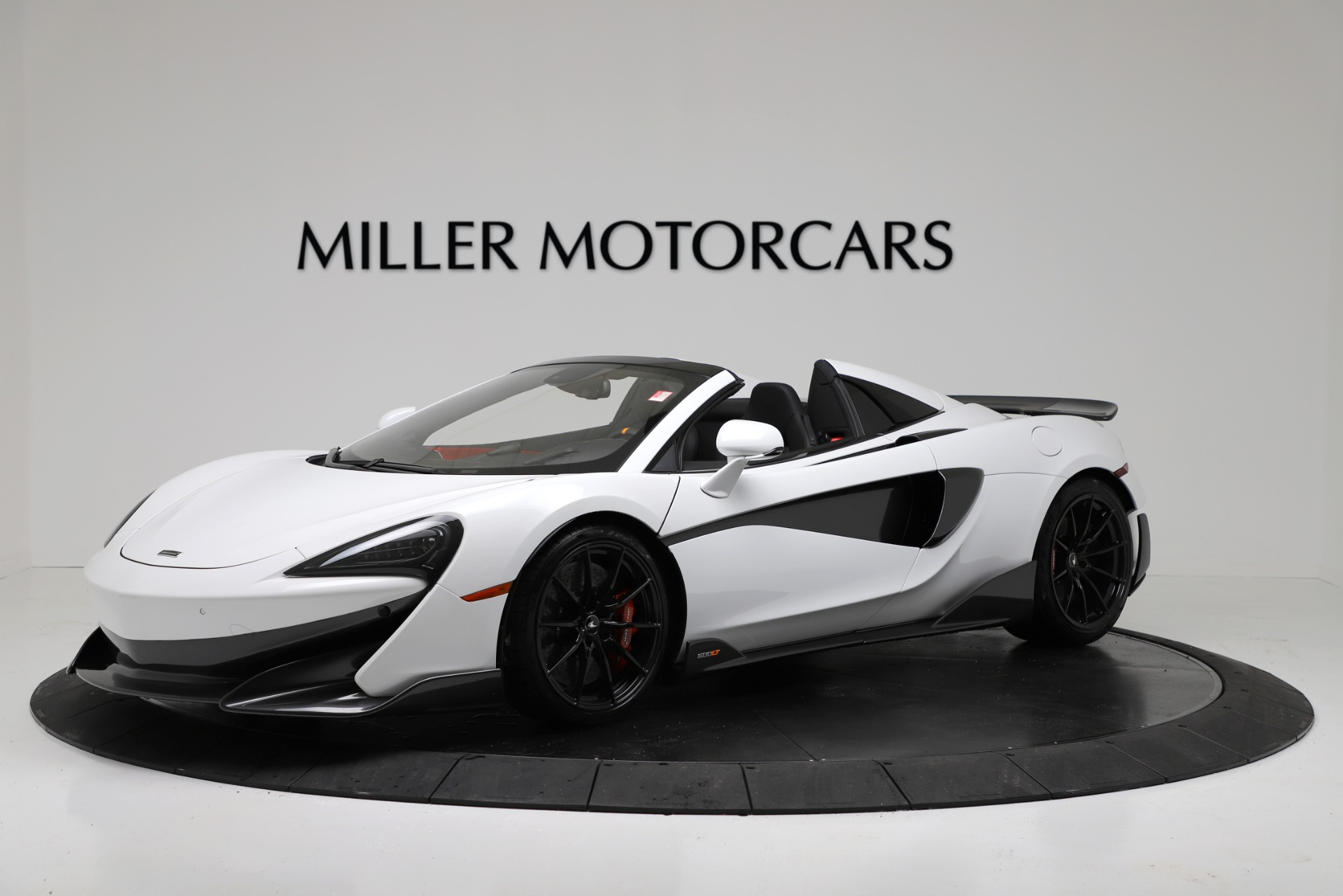 New 2020 McLaren 600LT Convertible for sale Sold at McLaren Greenwich in Greenwich CT 06830 1