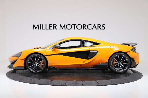 New 2019 McLaren 600LT Coupe for sale $279,310 at McLaren Greenwich in Greenwich CT 06830 3