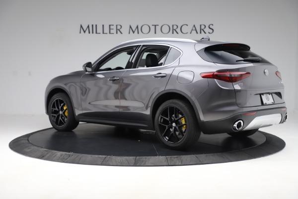 New 2019 Alfa Romeo Stelvio Ti Q4 for sale Sold at McLaren Greenwich in Greenwich CT 06830 4