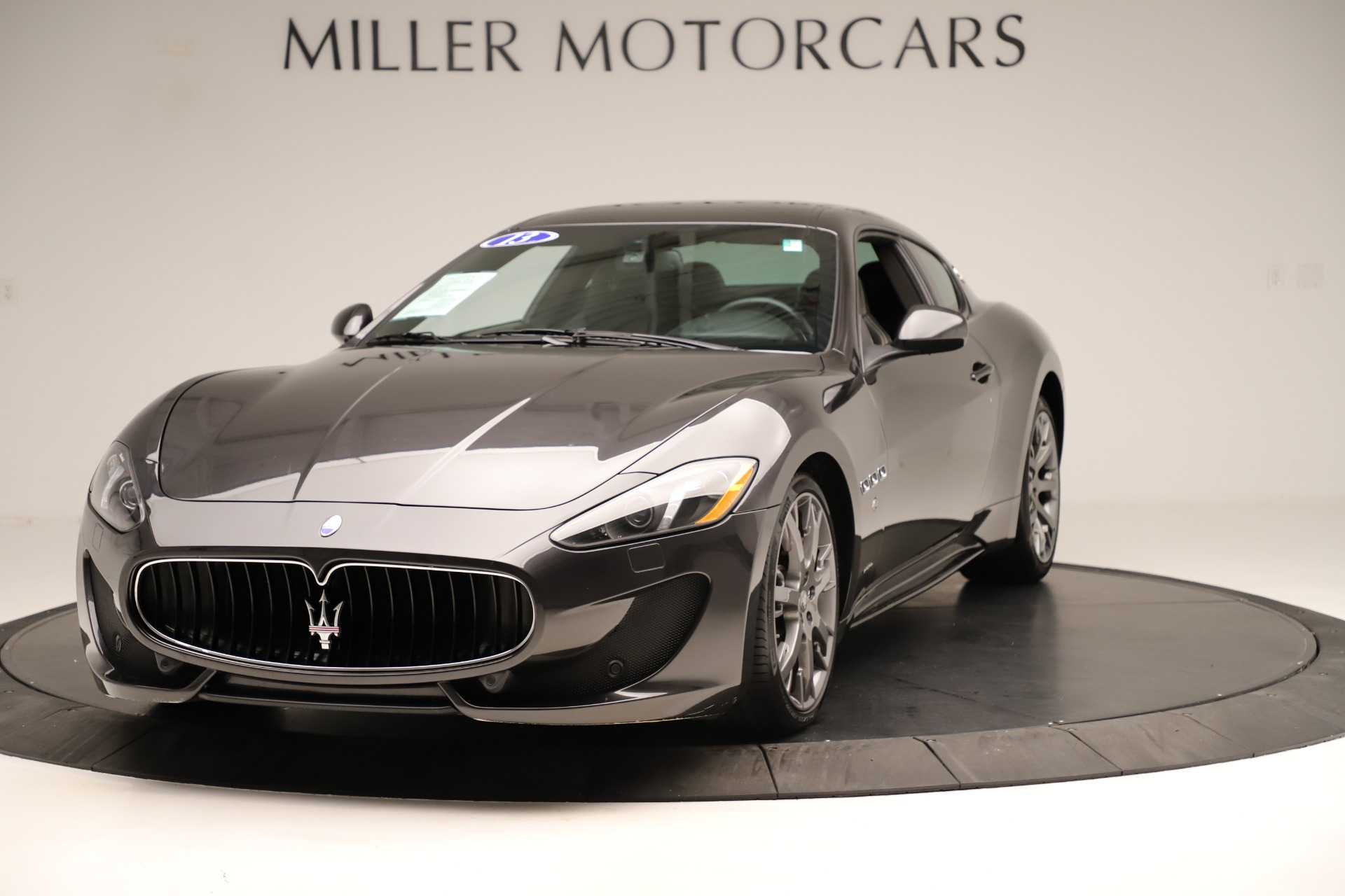 Used 2013 Maserati GranTurismo Sport for sale Sold at McLaren Greenwich in Greenwich CT 06830 1