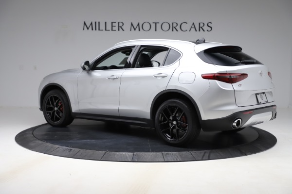 New 2019 Alfa Romeo Stelvio Ti Q4 for sale Sold at McLaren Greenwich in Greenwich CT 06830 4
