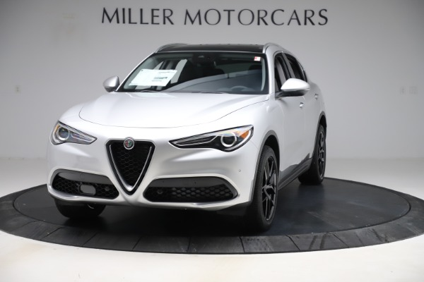 New 2019 Alfa Romeo Stelvio Ti Q4 for sale Sold at McLaren Greenwich in Greenwich CT 06830 1
