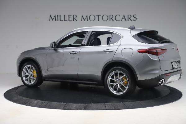 New 2019 Alfa Romeo Stelvio Ti Lusso Q4 for sale $56,390 at McLaren Greenwich in Greenwich CT 06830 4