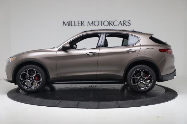 New 2019 Alfa Romeo Stelvio Ti Sport Q4 for sale Sold at McLaren Greenwich in Greenwich CT 06830 3
