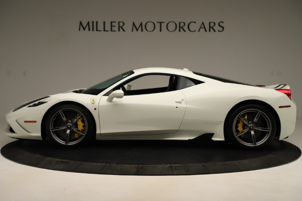 Used 2014 Ferrari 458 Speciale for sale $359,900 at McLaren Greenwich in Greenwich CT 06830 3