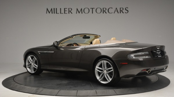 Used 2012 Aston Martin Virage Convertible for sale Sold at McLaren Greenwich in Greenwich CT 06830 4