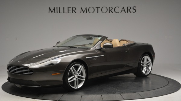 Used 2012 Aston Martin Virage Convertible for sale Sold at McLaren Greenwich in Greenwich CT 06830 1