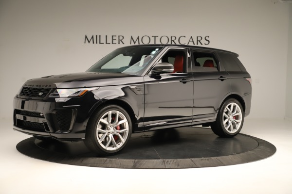 Used 2019 Land Rover Range Rover Sport SVR for sale Sold at McLaren Greenwich in Greenwich CT 06830 2