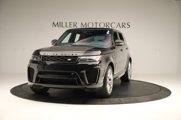 Used 2019 Land Rover Range Rover Sport SVR for sale Sold at McLaren Greenwich in Greenwich CT 06830 1