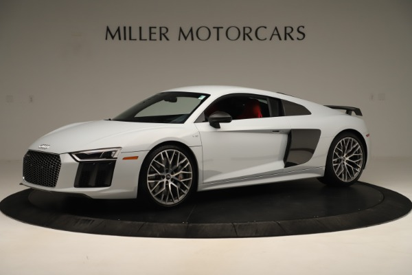 Used 2018 Audi R8 5.2 quattro V10 Plus for sale Sold at McLaren Greenwich in Greenwich CT 06830 2