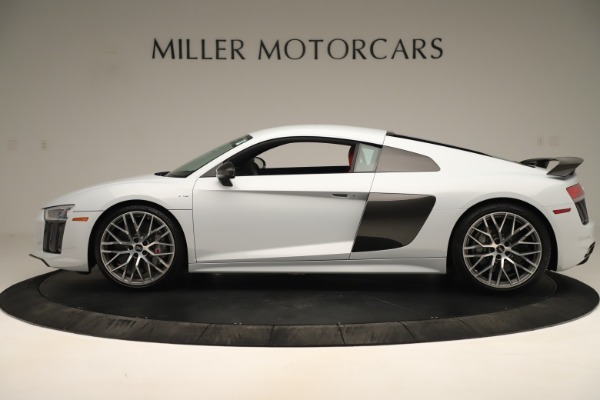 Used 2018 Audi R8 5.2 quattro V10 Plus for sale Sold at McLaren Greenwich in Greenwich CT 06830 3