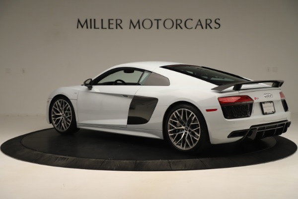 Used 2018 Audi R8 5.2 quattro V10 Plus for sale Sold at McLaren Greenwich in Greenwich CT 06830 4