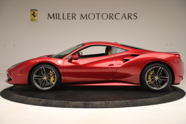 Used 2018 Ferrari 488 GTB for sale Sold at McLaren Greenwich in Greenwich CT 06830 3