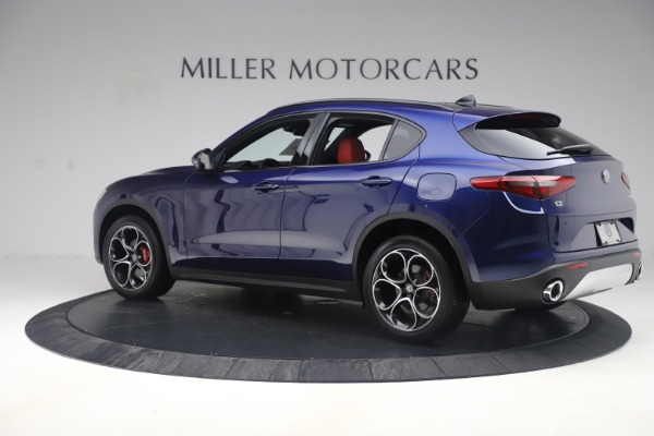 New 2019 Alfa Romeo Stelvio Ti Sport Q4 for sale $58,940 at McLaren Greenwich in Greenwich CT 06830 4