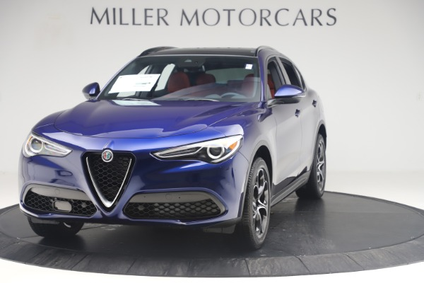 New 2019 Alfa Romeo Stelvio Ti Sport Q4 for sale $58,940 at McLaren Greenwich in Greenwich CT 06830 1