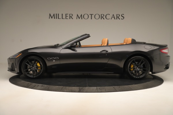 New 2019 Maserati GranTurismo Sport Convertible for sale $163,845 at McLaren Greenwich in Greenwich CT 06830 3