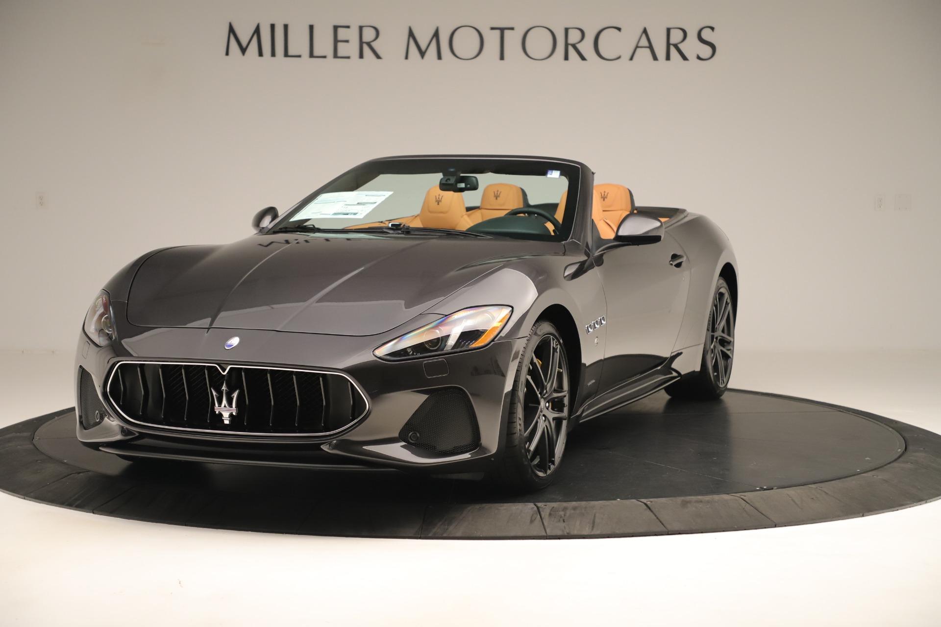 New 2019 Maserati GranTurismo Sport Convertible for sale $163,845 at McLaren Greenwich in Greenwich CT 06830 1
