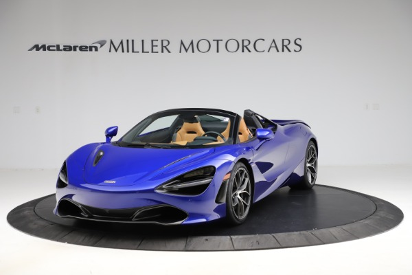 New 2020 McLaren 720S SPIDER Convertible for sale $374,830 at McLaren Greenwich in Greenwich CT 06830 2
